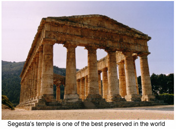 Monument to Time: Segesta's temple.