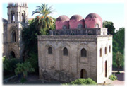 12th-century Norman-Arab churches in Palermo.